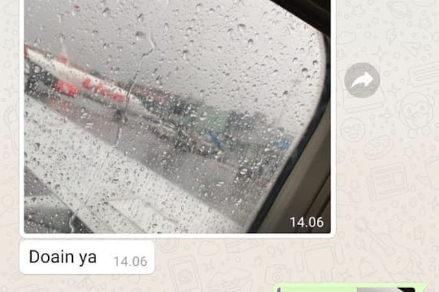 "Sebelum Lepas Landas, Indah Kirim Foto Sayap Sriwijaya Air ke Adiknya, ""Doain Ya"""