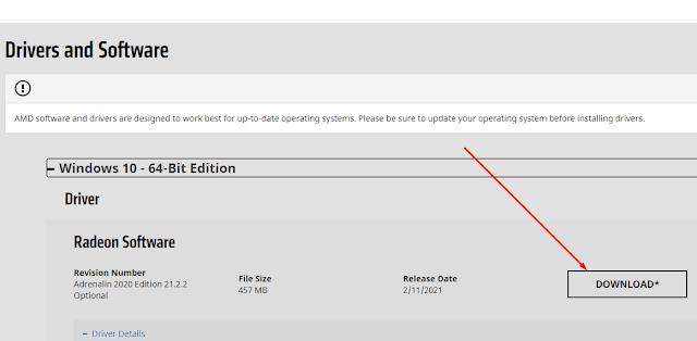 Mencari Driver VGA AMD Yang Sesuai