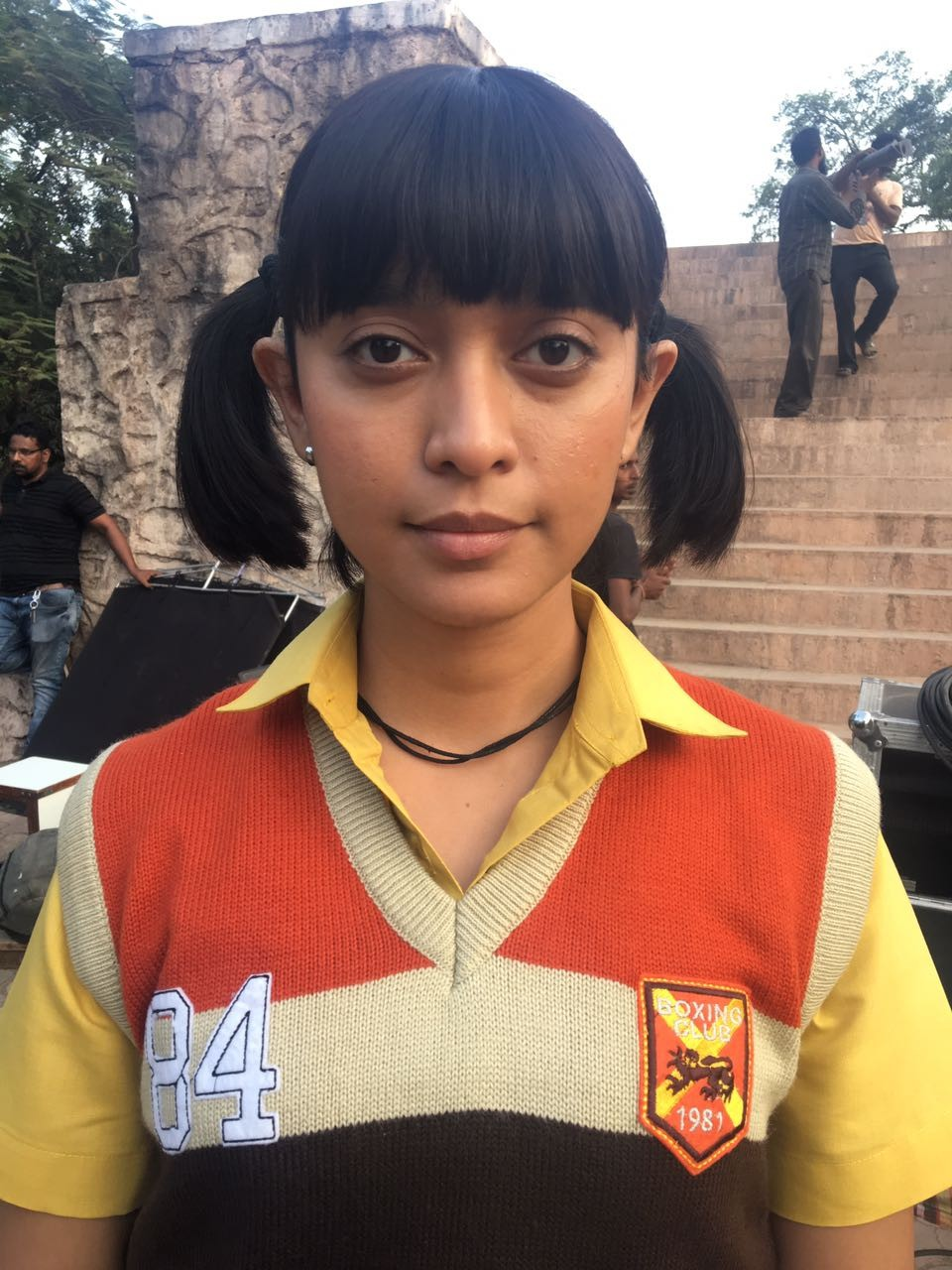 Sayani Gupta Bonds with Ranbir and Katrina on The Sets of Jagga Jasoos