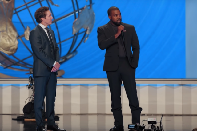 How to watch Joel Osteen's Easter service with Kanye West Live