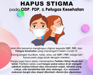Buang Stigma Buruk Bagi Warga Terkonfirmasi Positif Covid-19