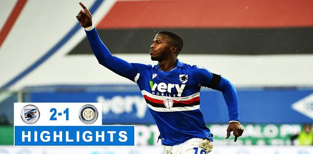 Sampdoria vs Inter – Highlights