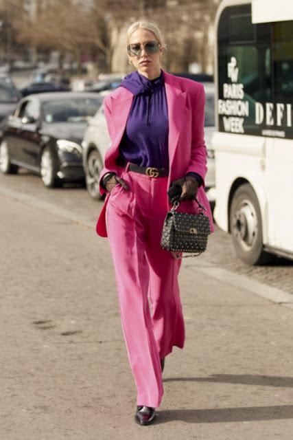 Модные образы яркой одежды 8