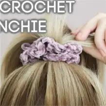 Moña o Coleta a Crochet