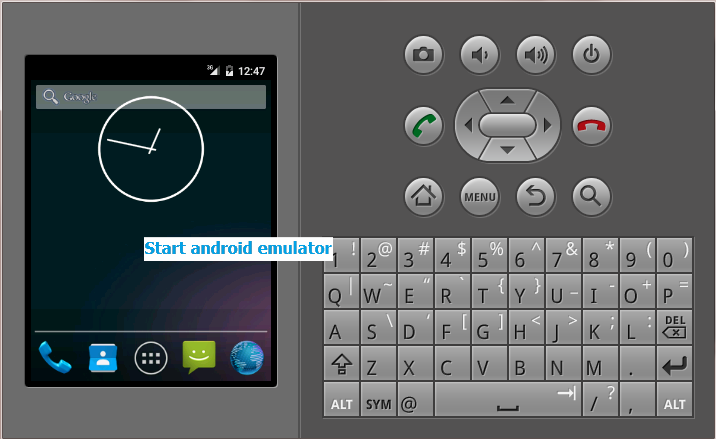 Install/Uninstall App In Emulator (AVD) Of Android From Command Prompt