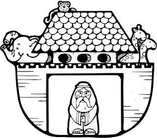 נוח והחיות לצביעה