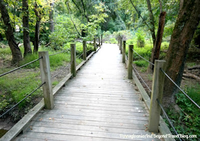 Nature Trails at Wildwood Park in Harrisburg Pennsylvania