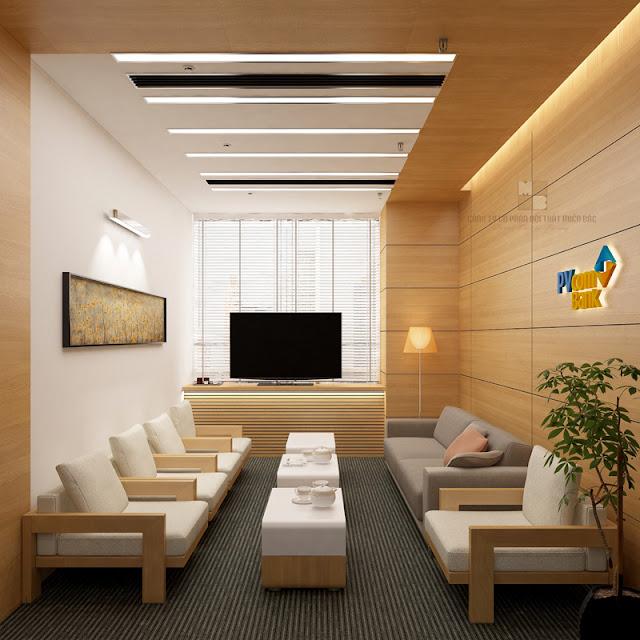 Thiết kế nội thất phòng họp sang trọng tạo ấn tượng với các đối tác, khách hàng khi đến với công ty bạn