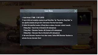 Event Apocalypse Survival PUBG Mobile, Begini cara memainkannya