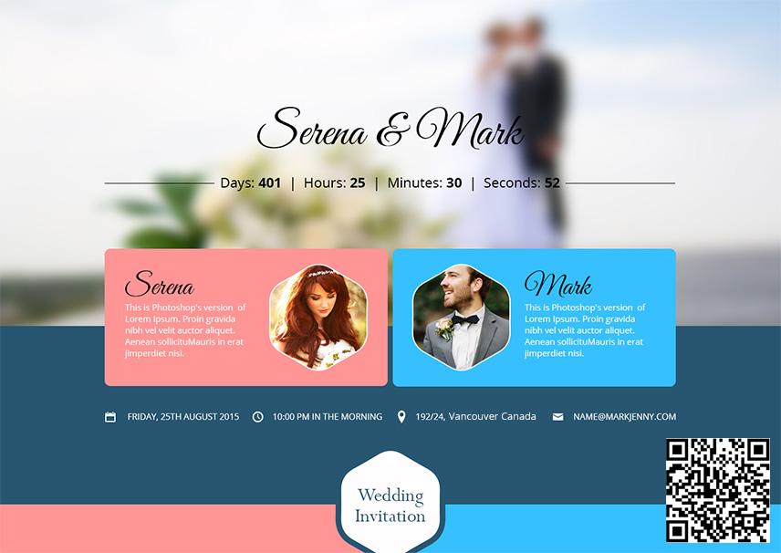 Wedding Invitation App Wedding Invitation App with QR Code