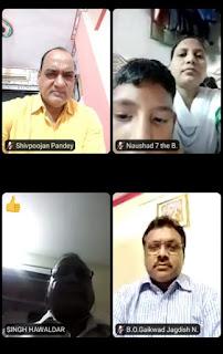 कोरबा मिठागर मनपा हिंदी शाला में ऑनलाइन हिंदी दिवस कार्यक्रम संपन्न | #NayaSaberaNetwork