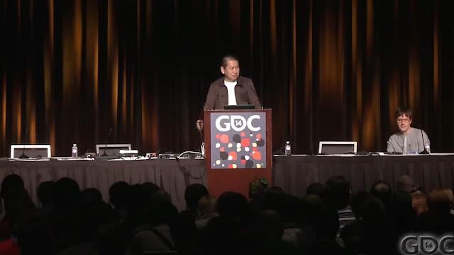 Yu Suzuki at GDC 2014
