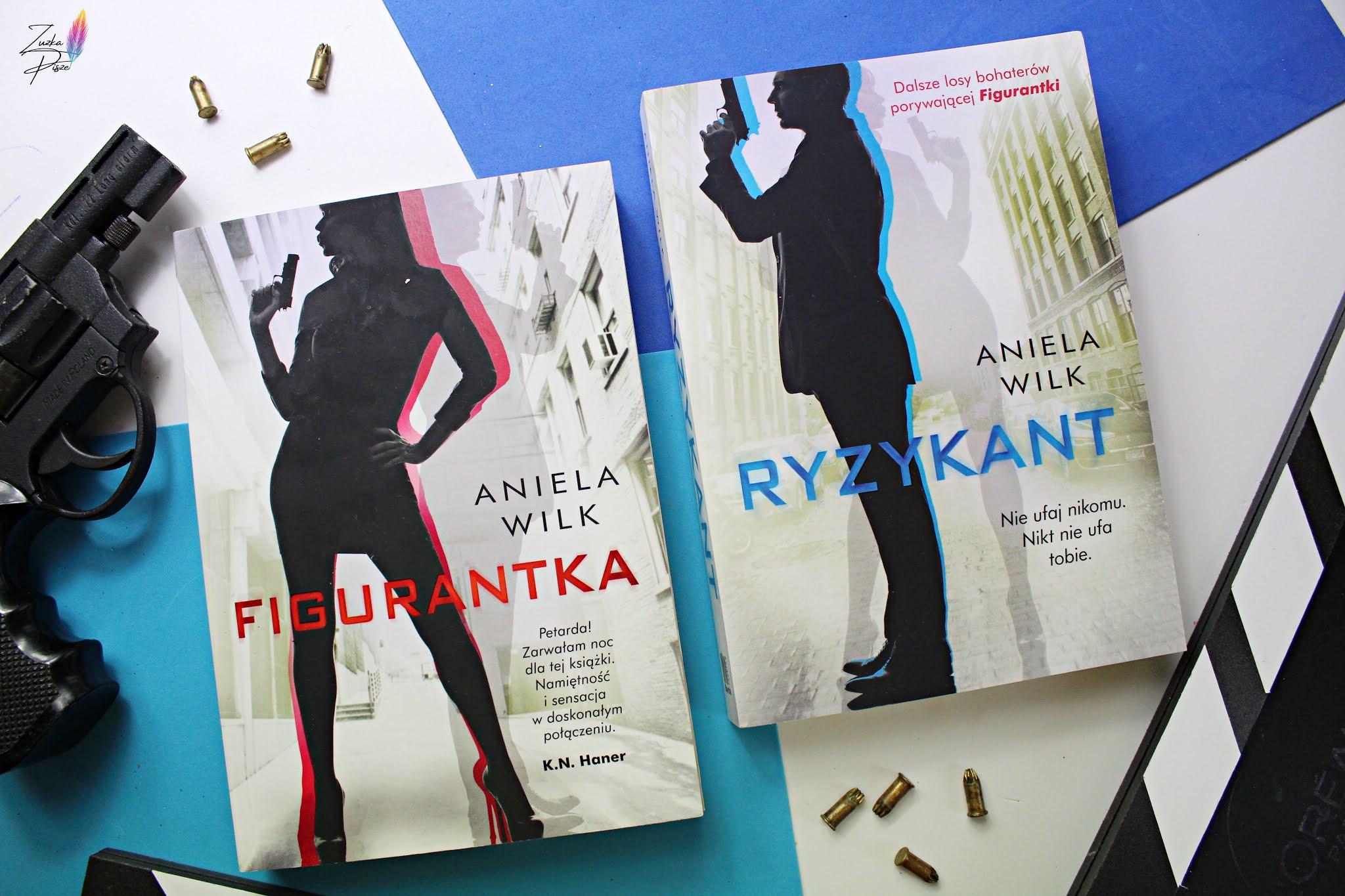 """Aniela Wilk """"Ryzykant"""" - recenzja książki"""