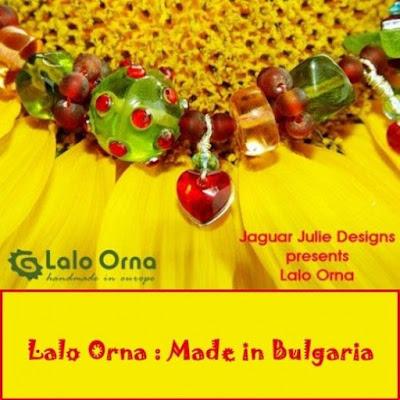 lalo orna made in bulgaria resin artsy jewelry