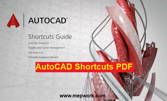 All AutoCAD Shortcut Keys PDF