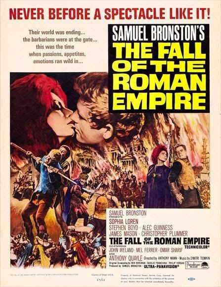 Film La Chute De L'empire Romain : chute, l'empire, romain, Chroniques, Cinéphile, Stakhanoviste:, Chute, L'Empire, Romain, Roman, Empire,, Anthony, (1964)