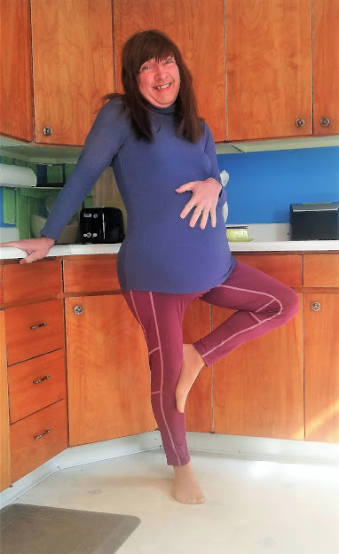 Barefoot, Pregnant, and in the Kitchen