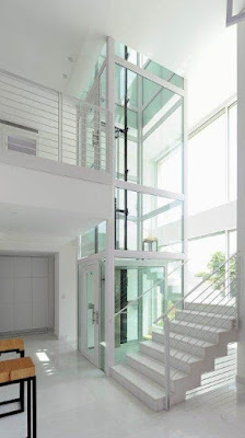 A Glass Elevator