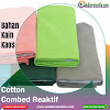 Jual Bahan Kaos Cotton Combed 24s Kiloan Plus Rib Tasikmalaya
