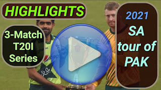 Pakistan vs South Africa T20I Series 2021