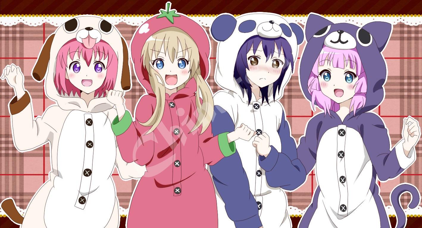 97 Gambar Gambar Anime Empat Sahabat Paling Keren