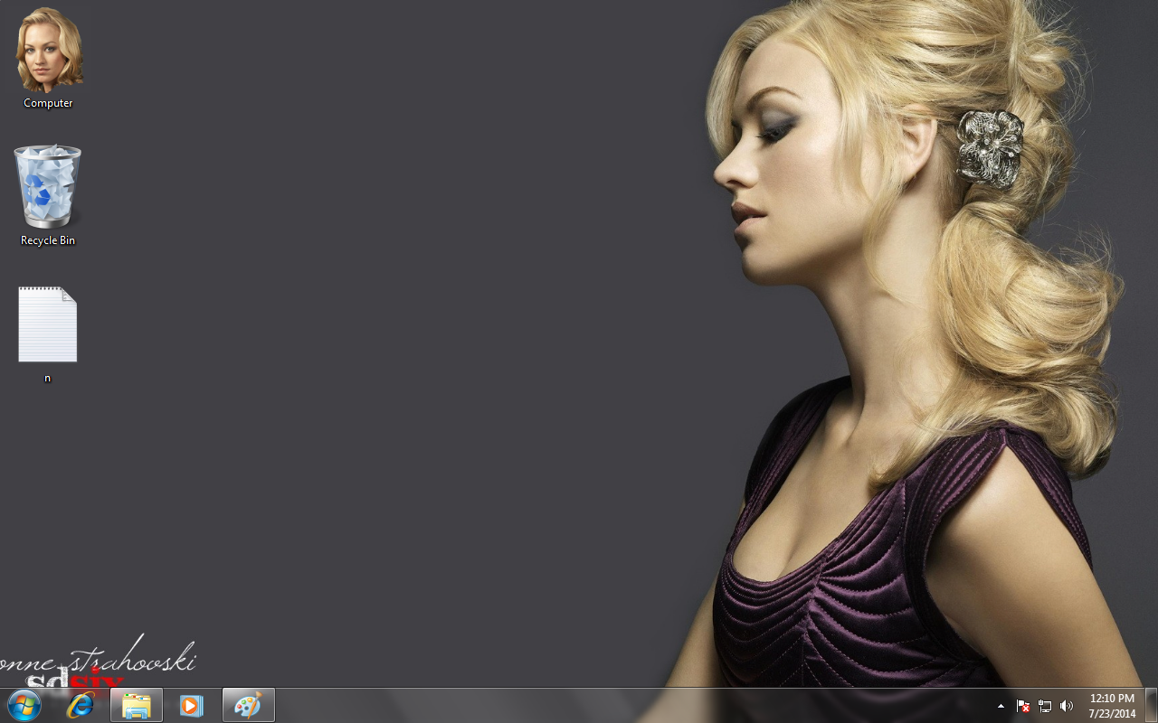 Yvonne Strahovski Theme for Windows 7 / 8 / 8.1