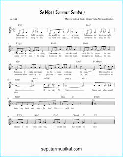 chord so nice summer samba lagu jazz standar