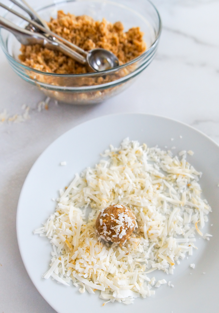 how to make Coconut-Sunflower Seed Energy Balls