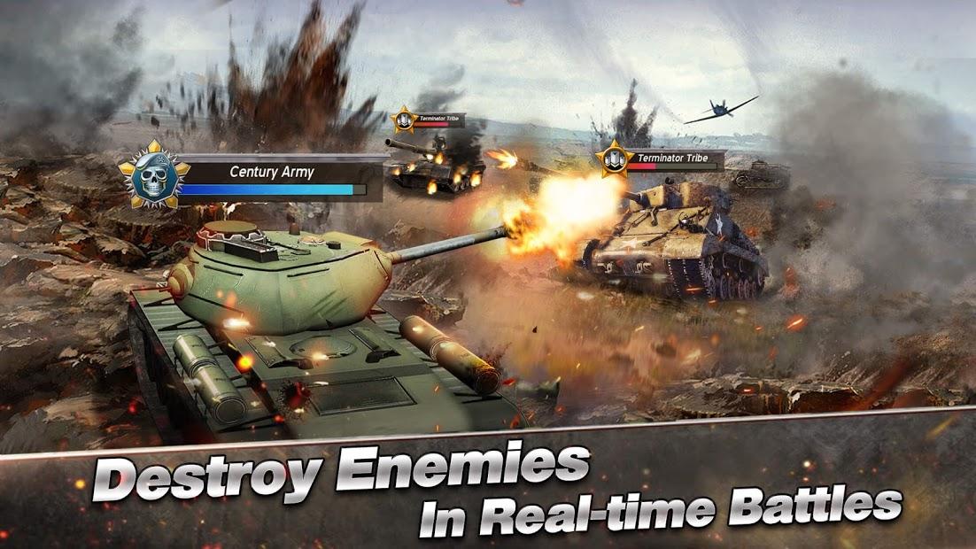 Furious Tank War of Worlds Hileli Apk - Tüm Bölümler Açık Apk