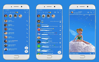 Tinker Bell Girls Theme For YOWhatsApp & Fouad WhatsApp By Leidiane