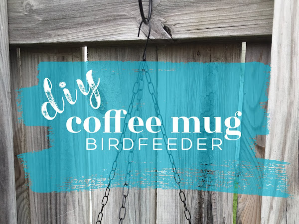 DIY Coffee Mug Birdfeeder