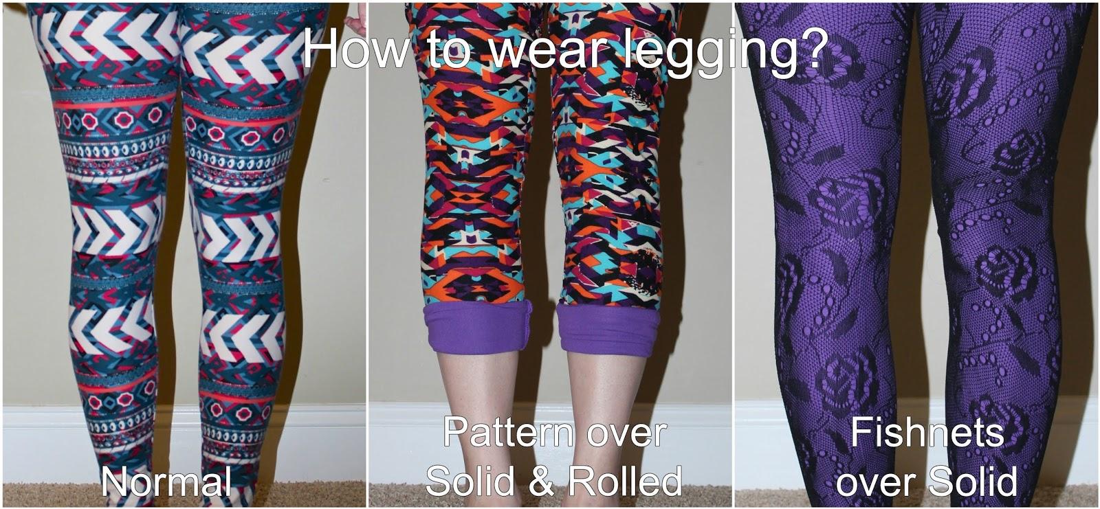 LulaRoe Part 2: Leggings - sizes, styling tips, legging
