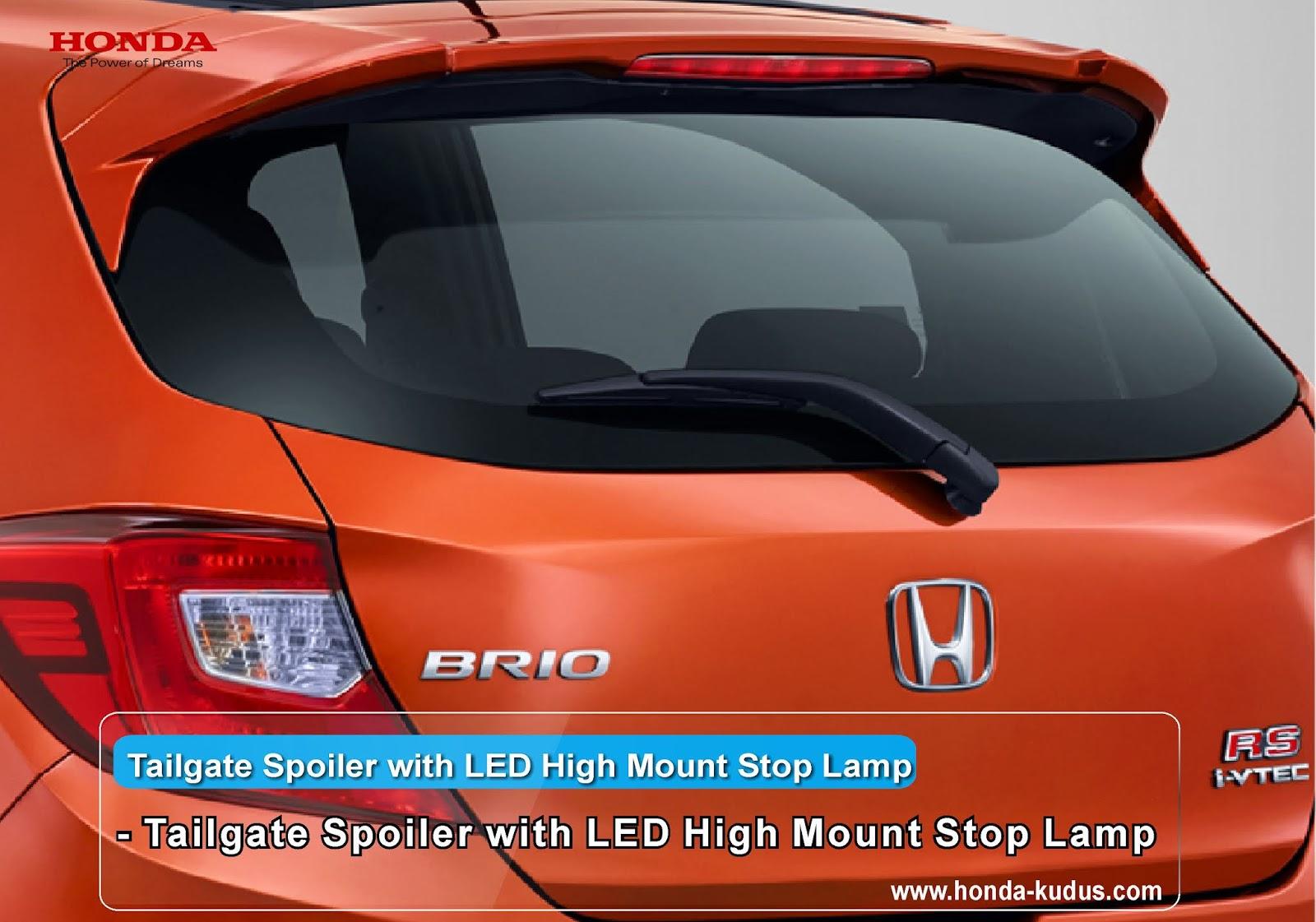 Fitur Lengkap All New Honda Brio - Dealer Honda Kudus ...
