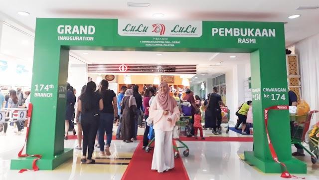 Lulu Hypermarket Shamelin Now Open!