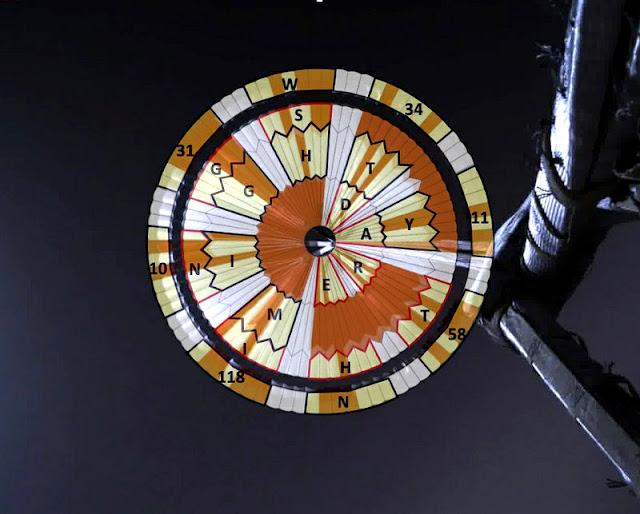 Mensagem Secreta no paraquedas da sonda Perseverance