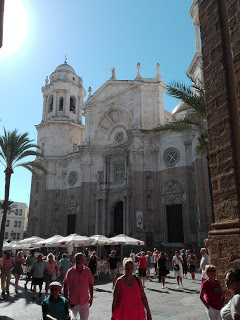 Perspectiva Catedral de cadiz