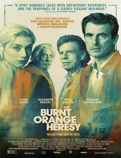 The Burnt Orange Heresy (2019) | DVDRip Latino HD GoogleDrive 1 Link