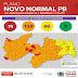 Bandeira Laranja volta a predominar nos municípios paraibanos na 25ª avaliação do Plano Novo Normal.