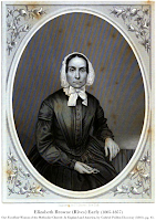 Steel-plate engraving of Elizabeth Browne (Rives) Early (1805-1857) by John Chester Buttre, from Our Excellent Women of the Methodist Church in England and America, by Rev. Gabriel Poillon Disosway (1861), pg. 61.
