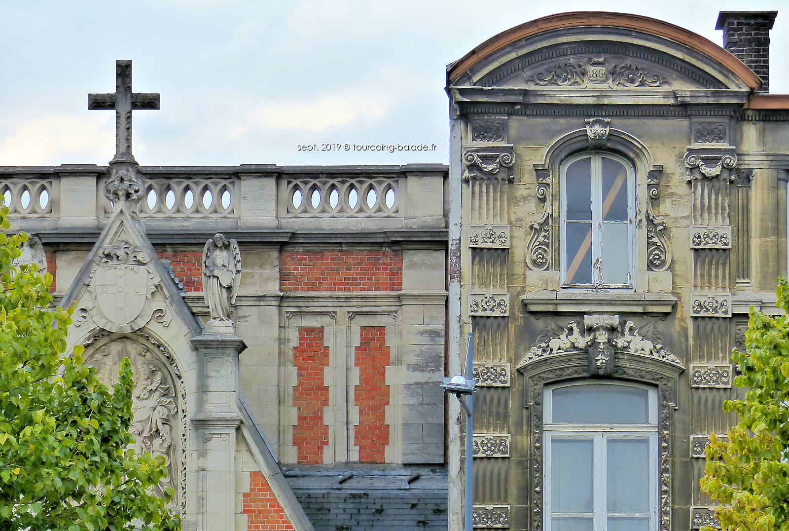 Couvent ds Bénédictines et Chapelle du Voeu, Tourcoing