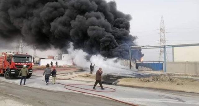 Incendie dans l'usine d'asphalte de Gabès: Le bilan s'alourdit