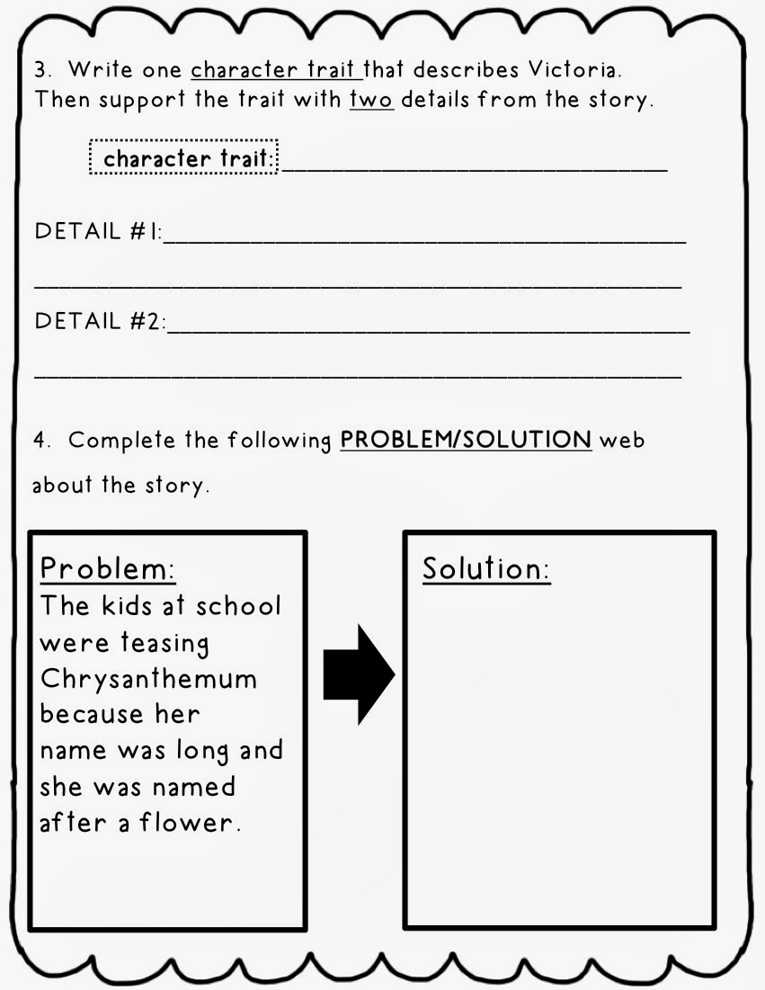 problem not to mention resolution essay middle school
