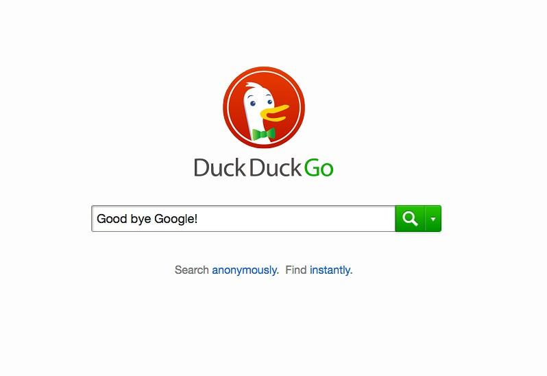 duckduckgo vs google resultados