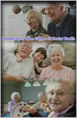 Benefits from Video Games for Senior Health, seniors games