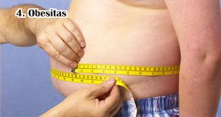 Obesitas akibat sering rebahan