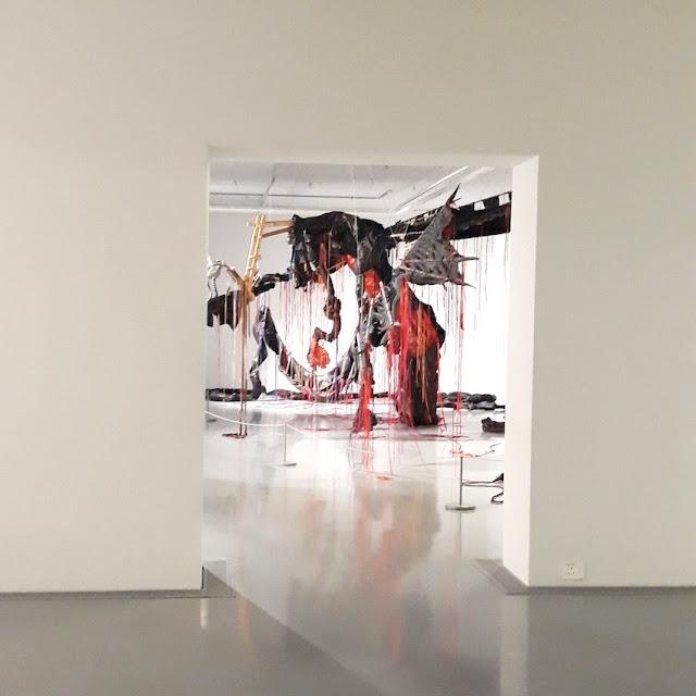 Contemporary art dragon - Zeitz MOCAA