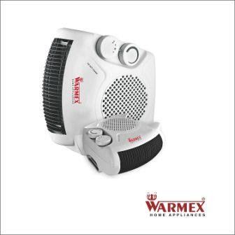 Warmex Home Appliances 1000/2000 Watts Fan Heater FH 09, White