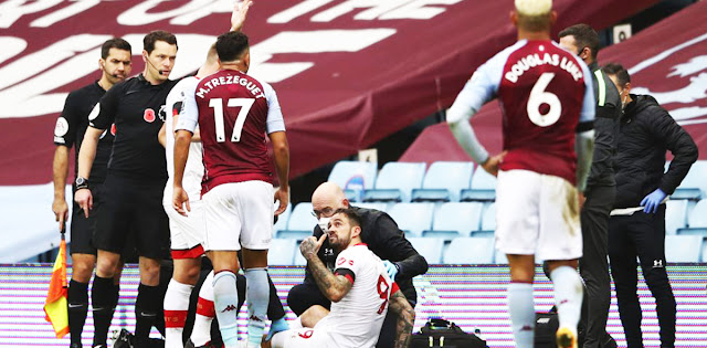 Danny ings facing up to six weeks out with knee injury