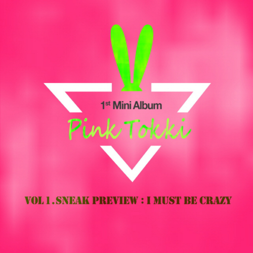 Pink Tokki – Vol. 1. Sneak Preview `I Must Be Crazy` – EP
