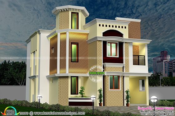 South Indian modern home